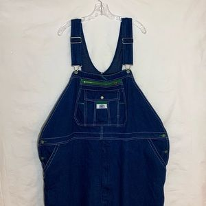 NWOT Liberty Men's Blue Jean Overall's  Size 52X30